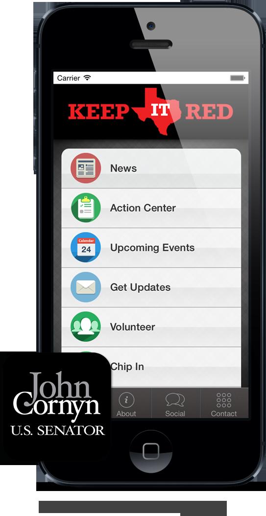 John Cornyn App